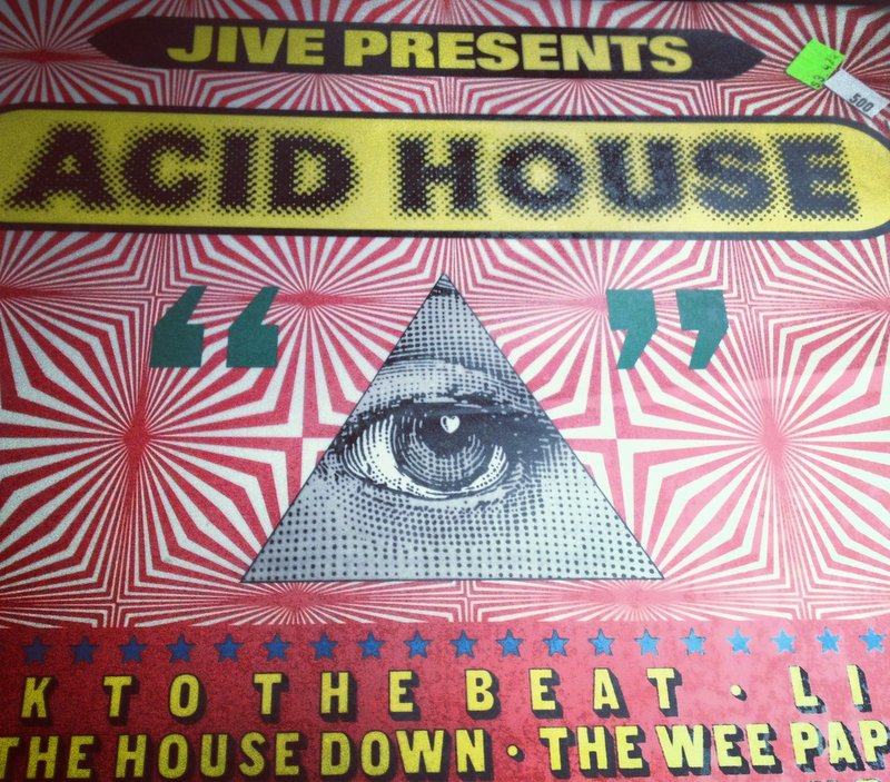 Jive presents acid house lost turntable for 90s acid house